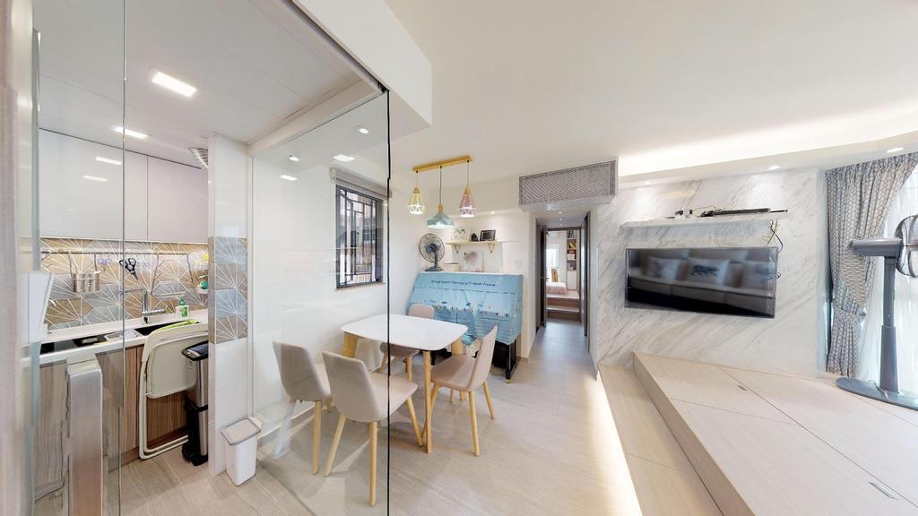 私家樓, 飯廳, 星河明居, 室內設計師, 和生設計