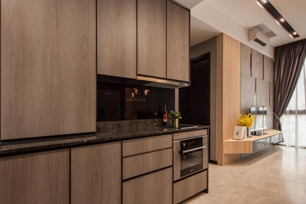 Contemporary, Condo, Living Room, The Asana, Interior Designer, Space Atelier