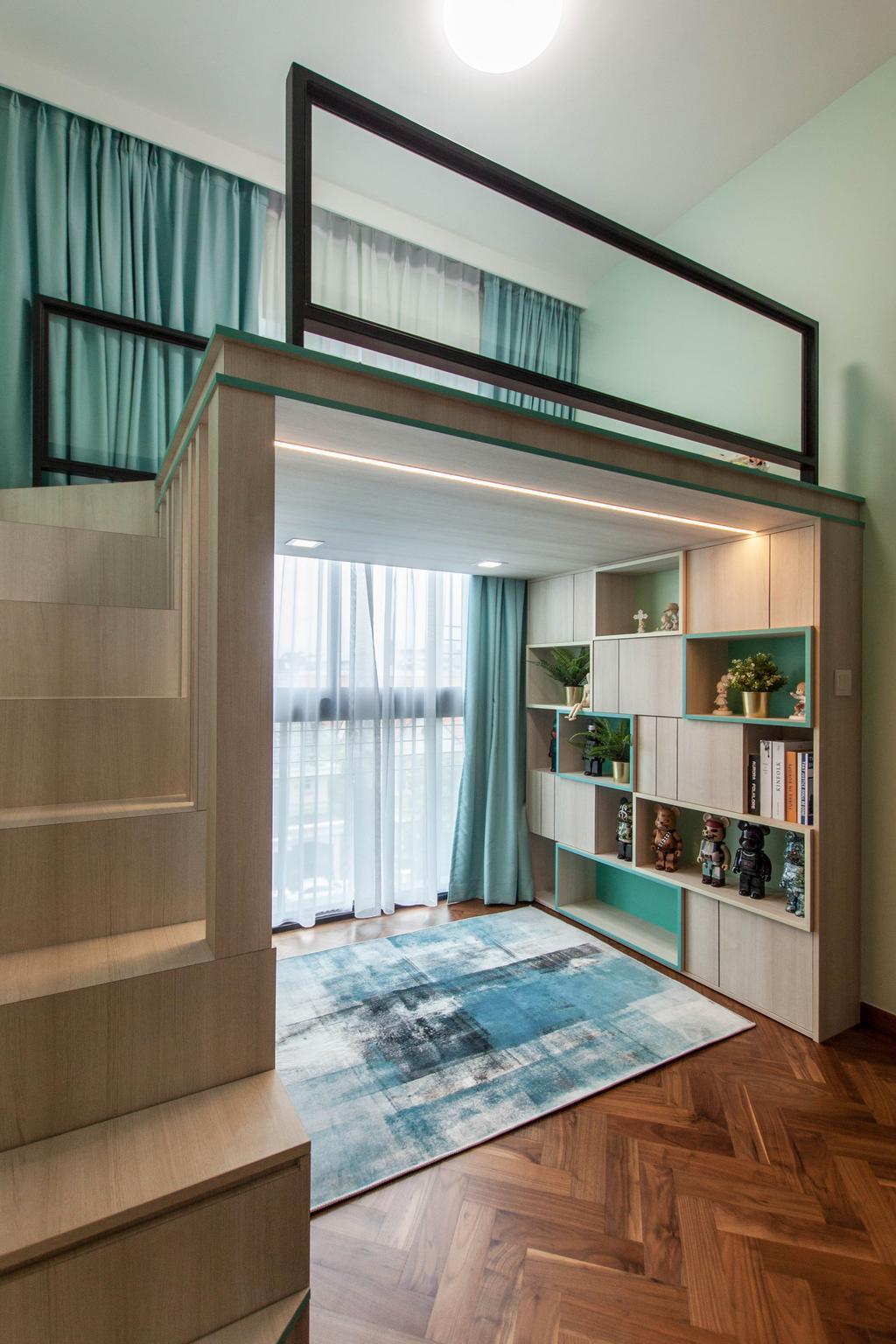 Contemporary, Condo, Bedroom, The Asana, Interior Designer, Space Atelier