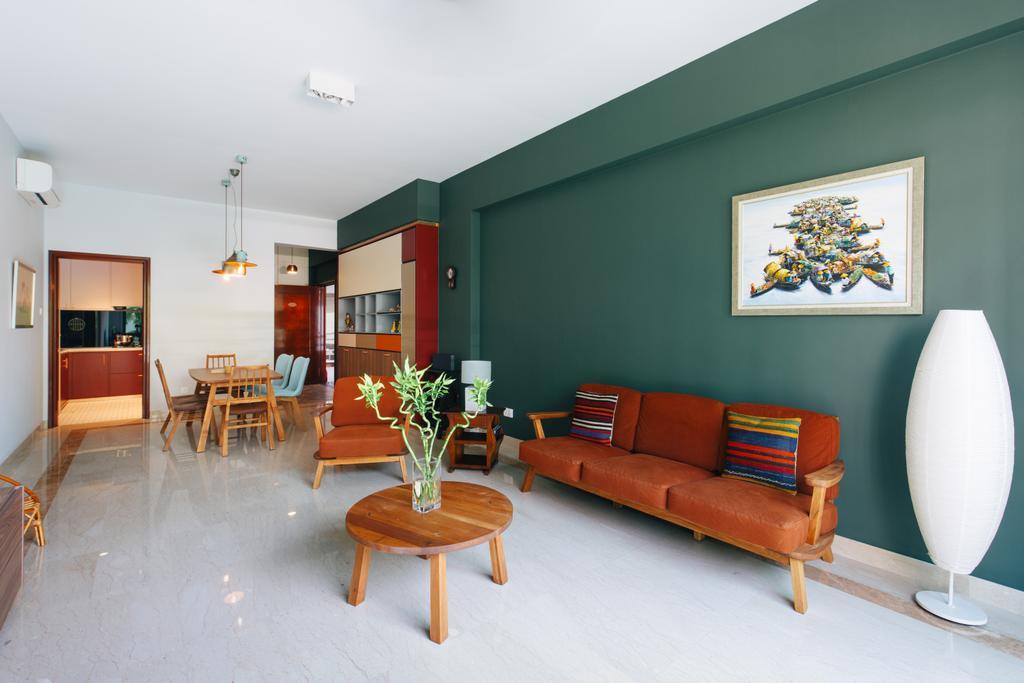 Contemporary, Condo, Living Room, Hillside, Interior Designer, The Scientist