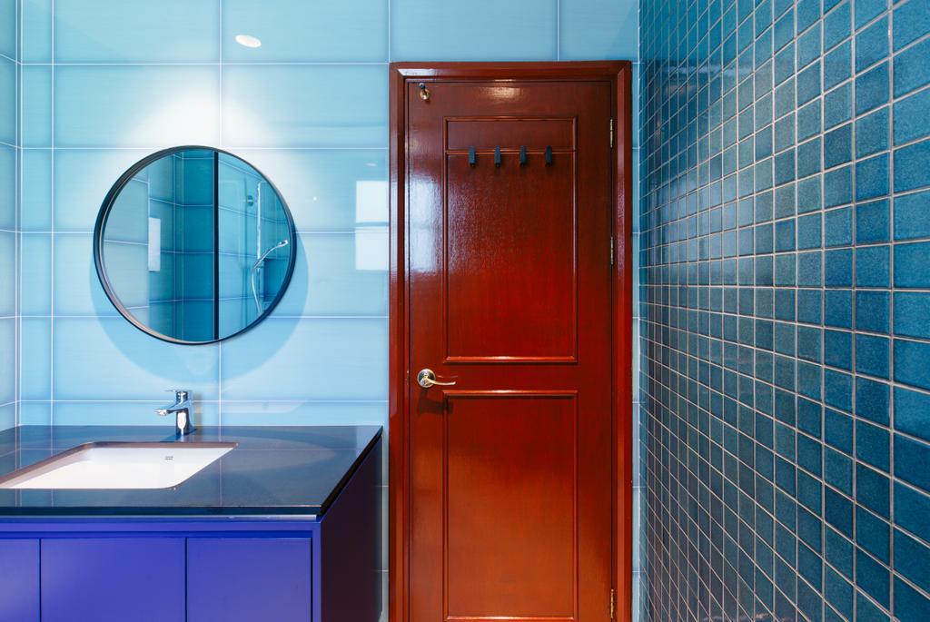 Contemporary, Condo, Bathroom, Hillside, Interior Designer, The Scientist