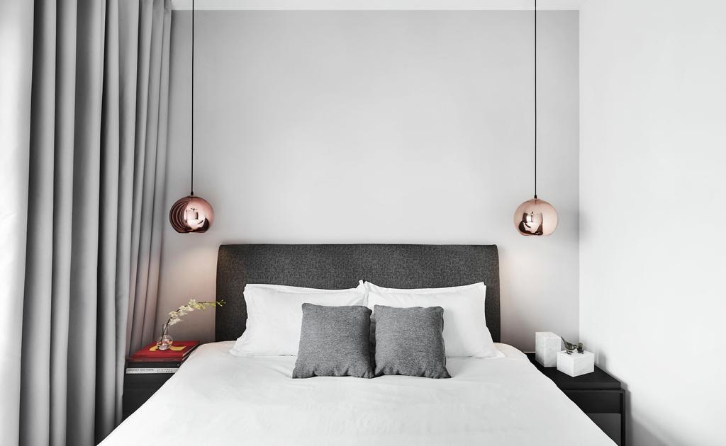 Modern, HDB, Bedroom, Tampines, Interior Designer, IN-EXPAT