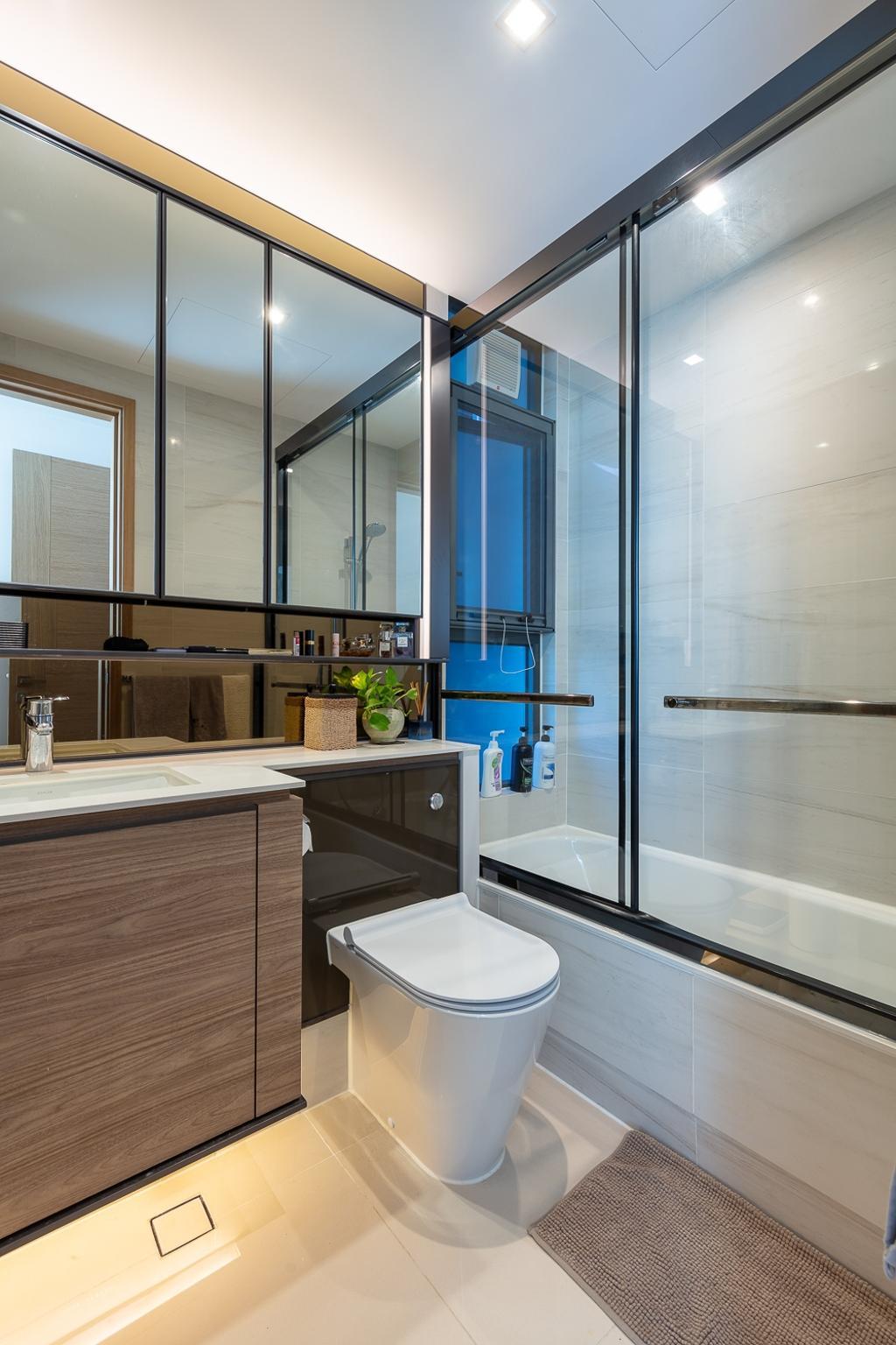 私家樓, 浴室, 滿名山, 室內設計師, am PLUS