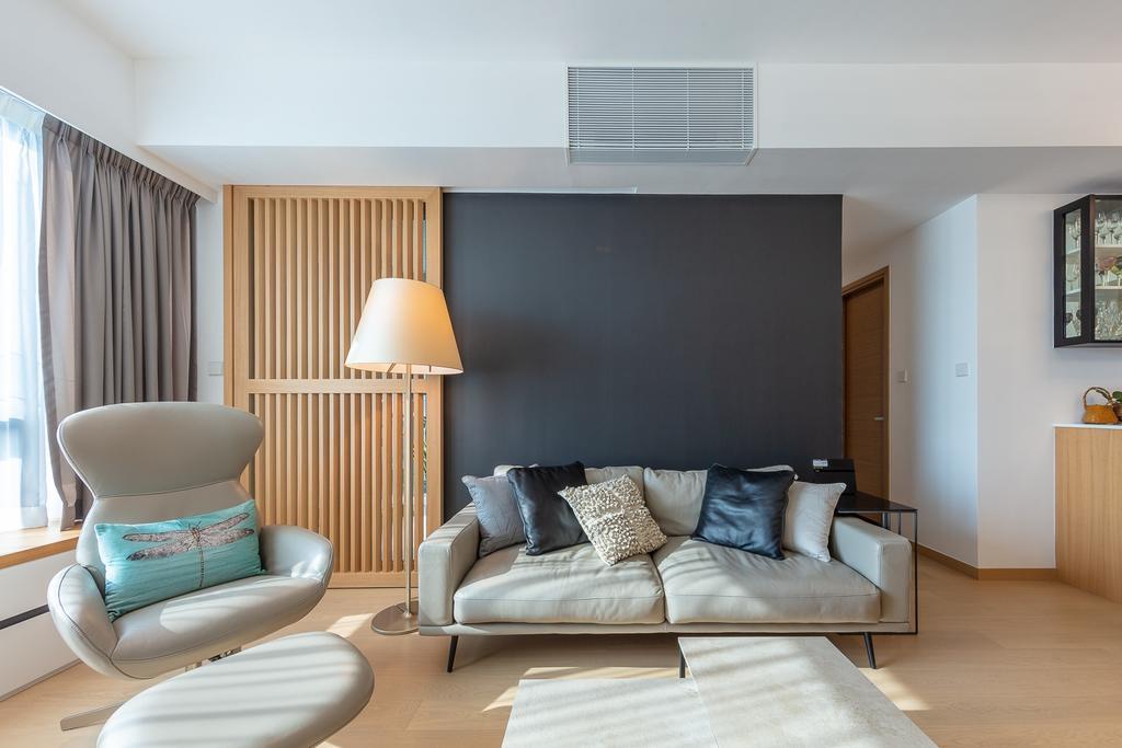 私家樓, 客廳, 滿名山, 室內設計師, am PLUS