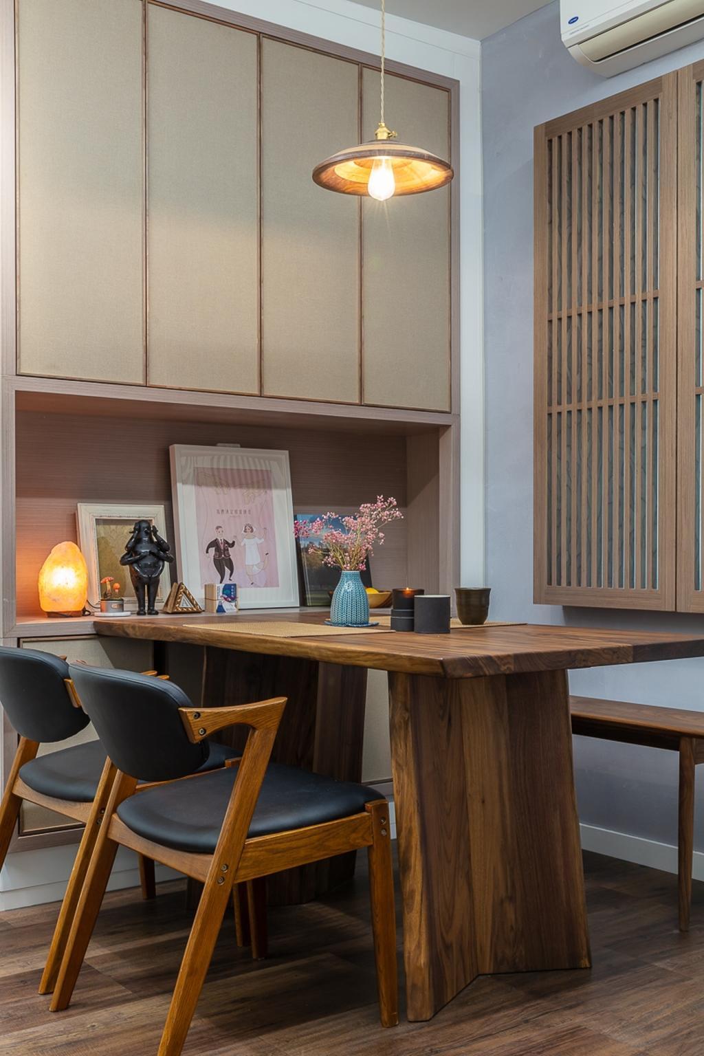 私家樓, 飯廳, 灝景灣, 室內設計師, am PLUS