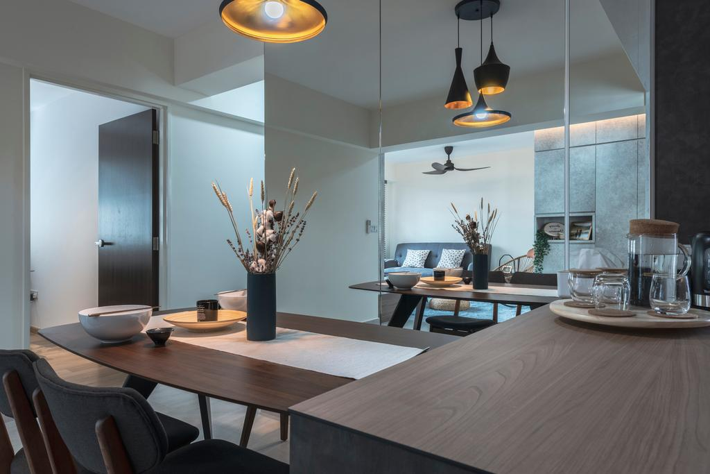Contemporary, HDB, Sembawang Crescent, Interior Designer, Project Guru