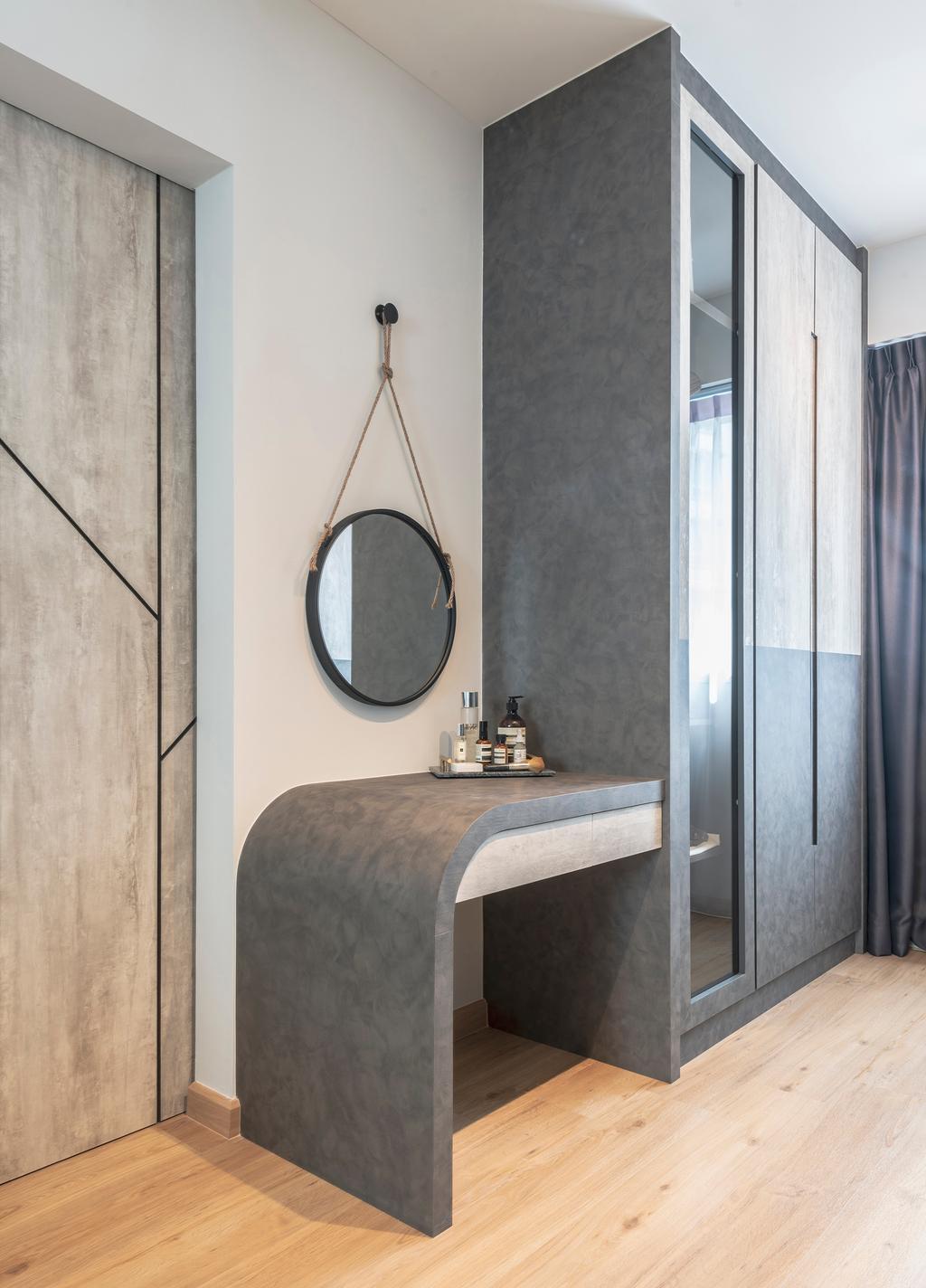 Contemporary, HDB, Bedroom, Sembawang Crescent, Interior Designer, Project Guru