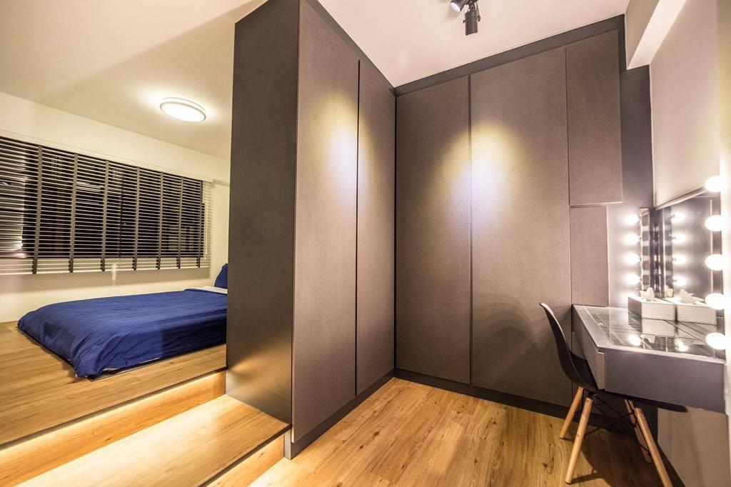 Contemporary, HDB, Bedroom, Yishun Avenue 4, Interior Designer, MET Interior
