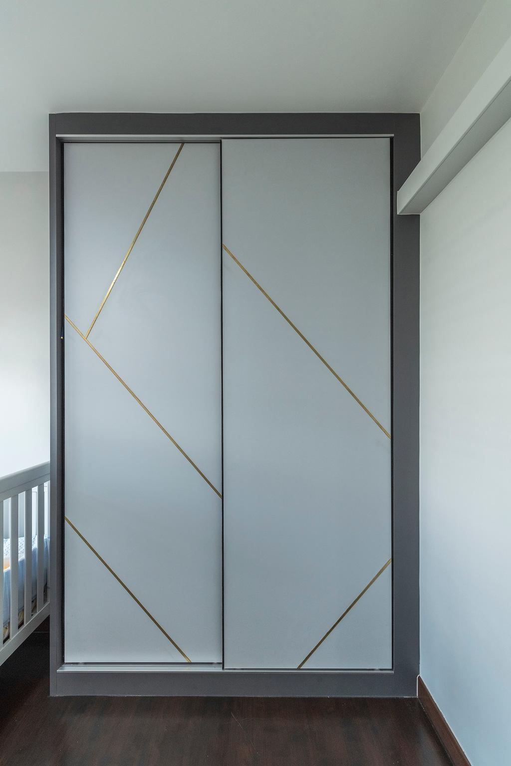Contemporary, HDB, Compassvale Crescent, Interior Designer, Butler Interior