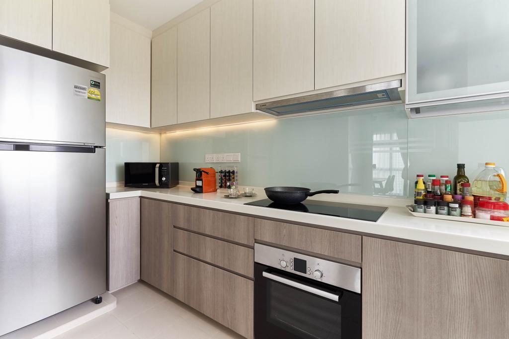 Contemporary, HDB, Kitchen, Clementi Avenue 3, Interior Designer, Willis Design