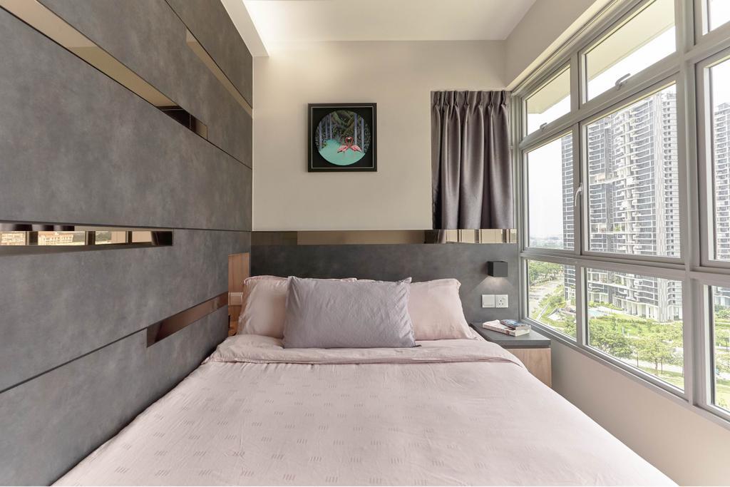 Contemporary, HDB, Bedroom, Clementi Avenue 3, Interior Designer, Willis Design