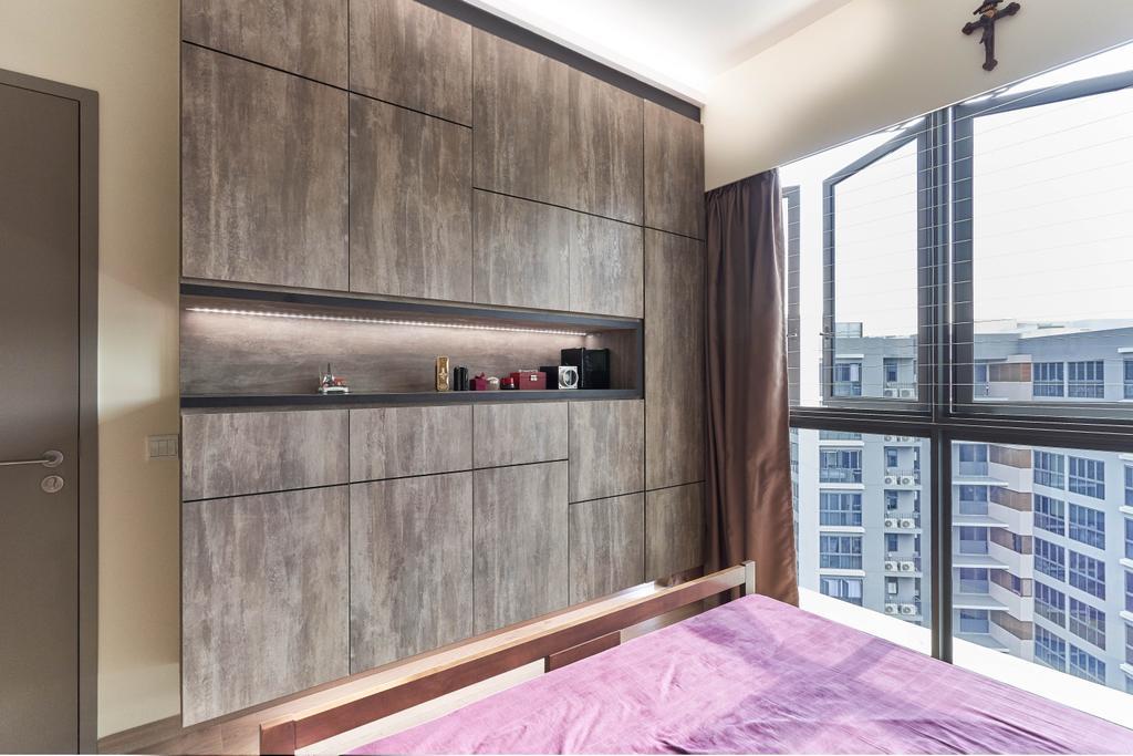 Transitional, Condo, Bedroom, The Criterion, Interior Designer, Willis Design