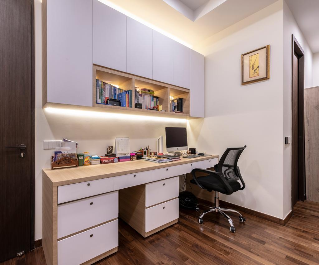 Contemporary, Landed, Bedroom, Serangoon Gardens Terrace, Interior Designer, Zenith Arc