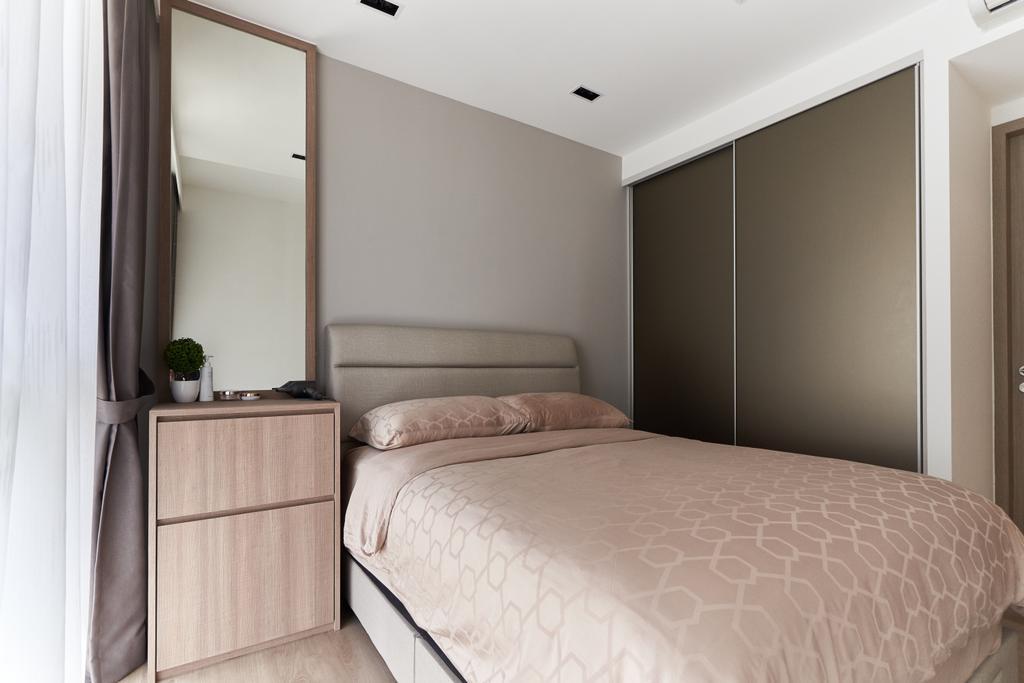 Contemporary, Condo, Bedroom, Sol Acres, Interior Designer, Charlotte's Carpentry