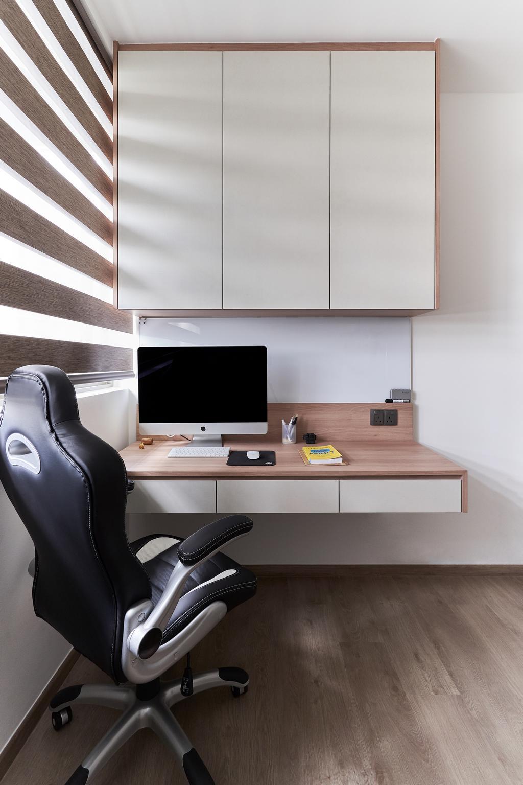 Contemporary, Condo, Study, Sol Acres, Interior Designer, Charlotte's Carpentry