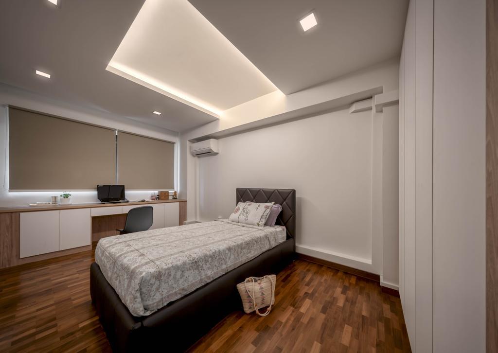 Transitional, HDB, Bedroom, Pasir Ris Street 71, Interior Designer, Zenith Arc, Contemporary