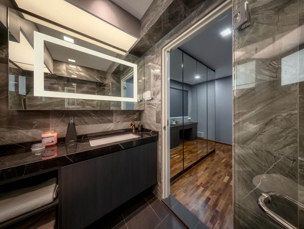 Transitional, HDB, Bathroom, Pasir Ris Street 71, Interior Designer, Zenith Arc, Contemporary