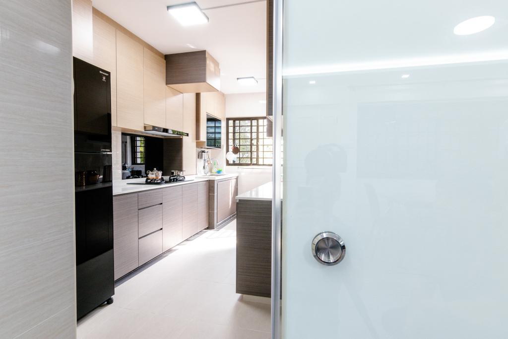 Modern, HDB, Kitchen, Hougang, Interior Designer, 9 Creation