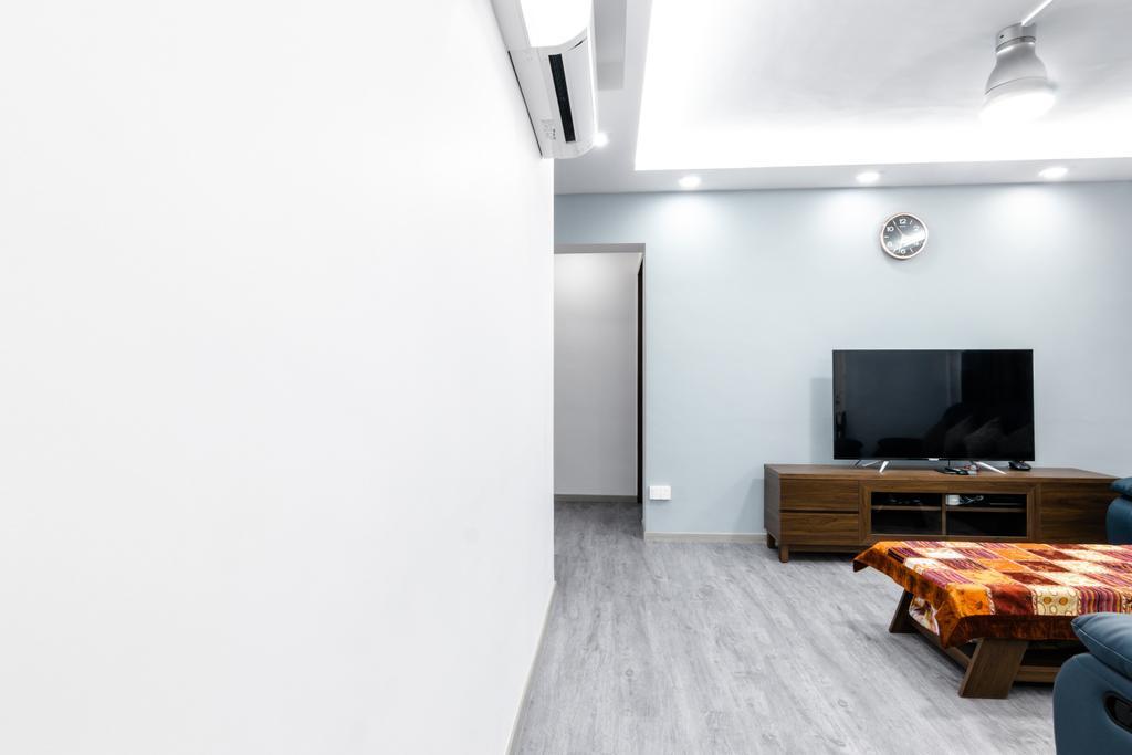 Modern, HDB, Living Room, Hougang, Interior Designer, 9 Creation