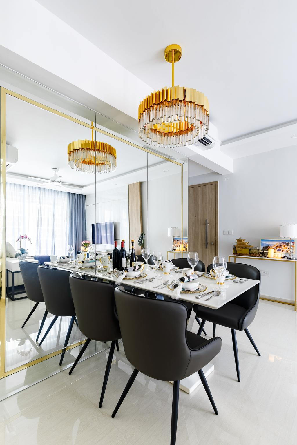 Contemporary, Condo, Dining Room, Sol Acres, Interior Designer, Anhans Interior Design