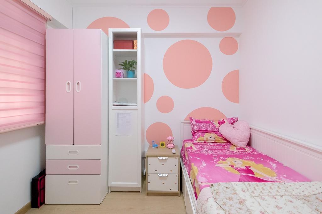 Contemporary, HDB, Bedroom, Sembawang Drive, Interior Designer, Style Living Interior
