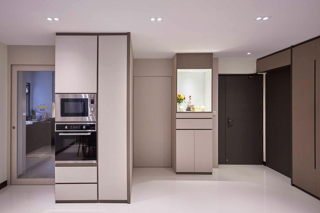 Contemporary, HDB, Bedok Central, Interior Designer, The Interior Lab
