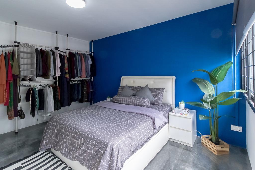 Industrial, HDB, Bedroom, Yishun Ring Road, Interior Designer, Style Living Interior