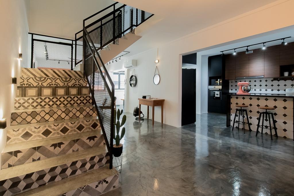 Industrial, HDB, Yishun Ring Road, Interior Designer, Style Living Interior