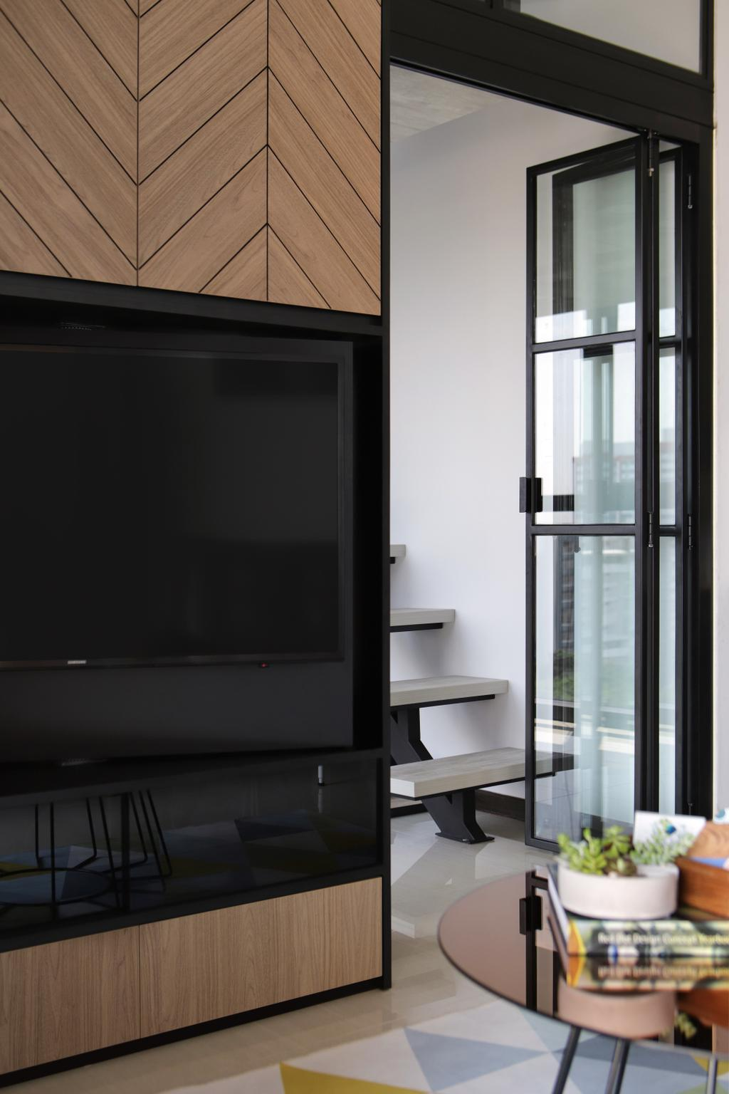 Contemporary, Condo, Living Room, Sims Urban Oasis, Interior Designer, Versaform