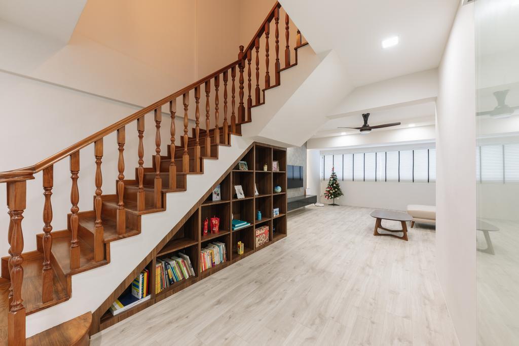 Contemporary, HDB, Living Room, Joo Seng Road, Interior Designer, Willis Design
