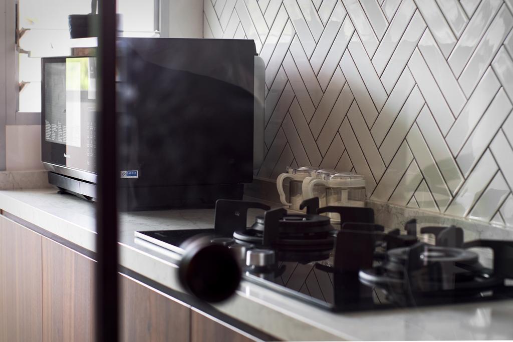 Contemporary, HDB, Kitchen, Telok Blangah, Interior Designer, Rockin Spaces