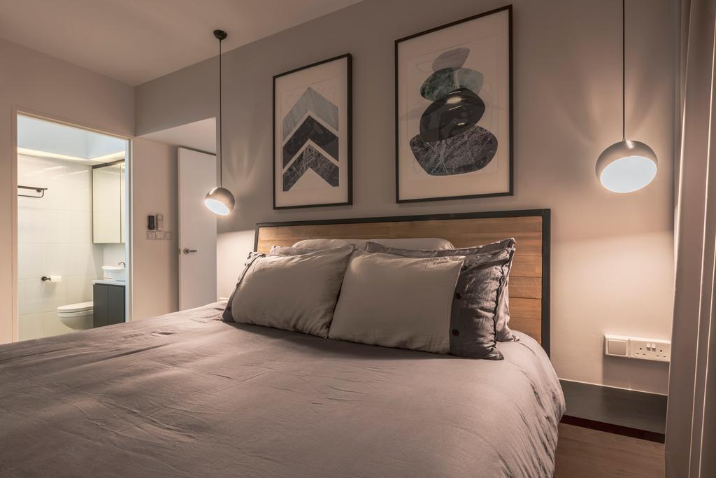 Scandinavian, HDB, Bedroom, Sembawang Crescent, Interior Designer, Meter Square