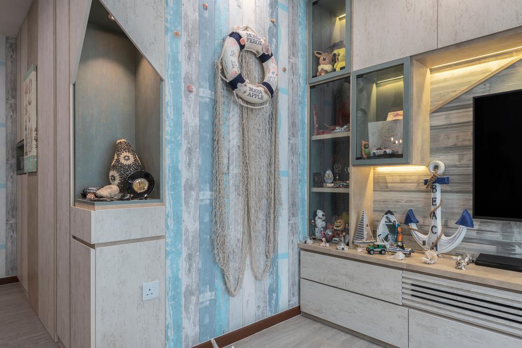 Eclectic, HDB, Living Room, Sumang Lane, Interior Designer, Z House Interior Design