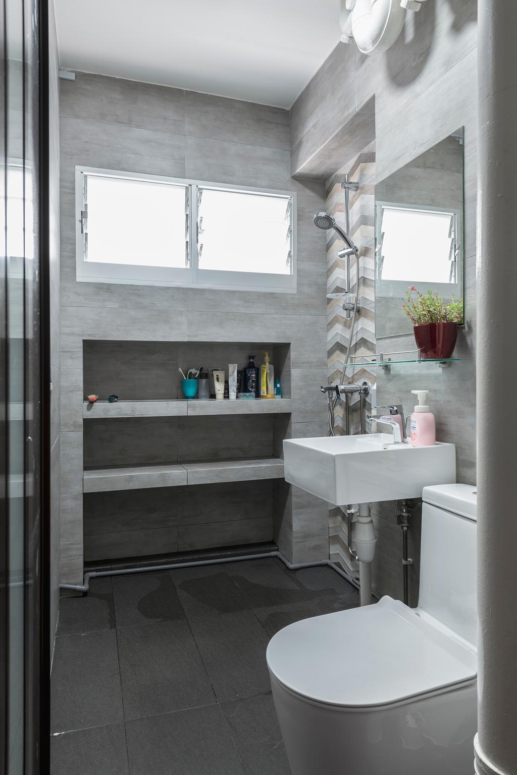 Contemporary, HDB, Bathroom, Pasir Ris Street 71, Interior Designer, Ascenders Design Studio