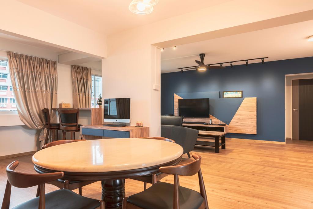 Contemporary, HDB, Living Room, Pasir Ris Street 71, Interior Designer, Ascenders Design Studio