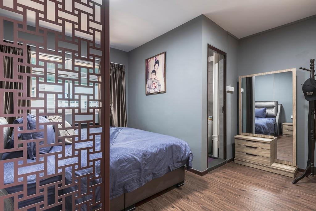 Contemporary, HDB, Bedroom, Pasir Ris Street 71, Interior Designer, Ascenders Design Studio