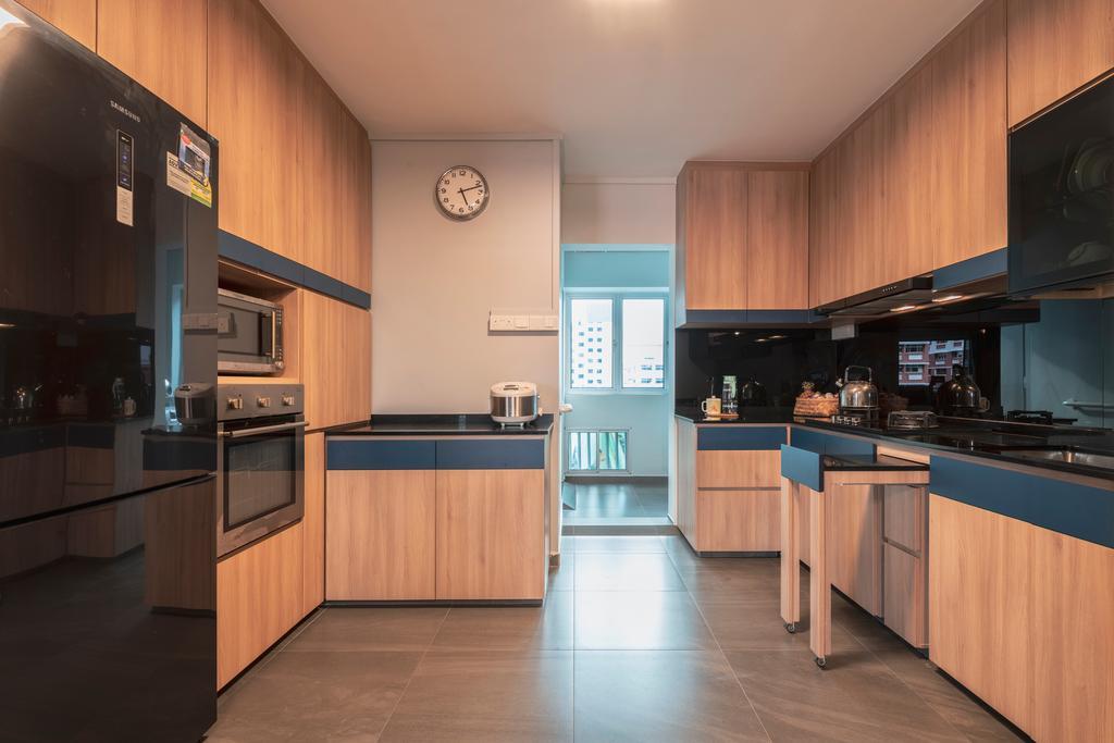 Contemporary, HDB, Kitchen, Pasir Ris Street 71, Interior Designer, Ascenders Design Studio