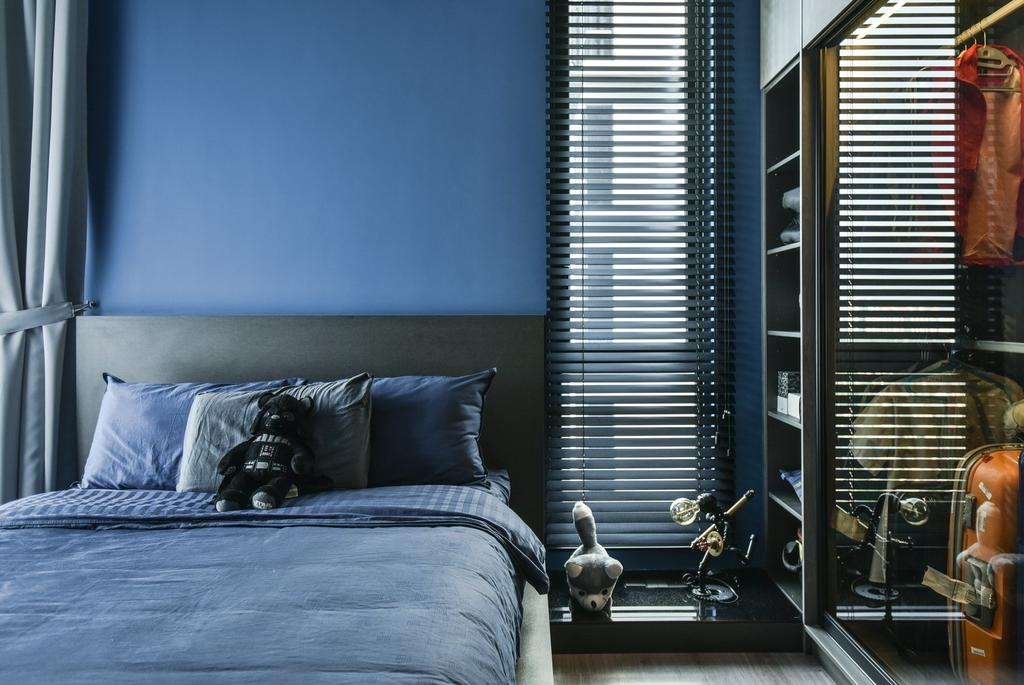 Contemporary, Condo, Bedroom, Anjali Residence, Kuala Lumpur, Interior Designer, IQI Concept Interior Design & Renovation