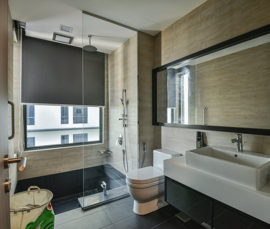 Contemporary, Condo, Bathroom, Anjali Residence, Kuala Lumpur, Interior Designer, IQI Concept Interior Design & Renovation