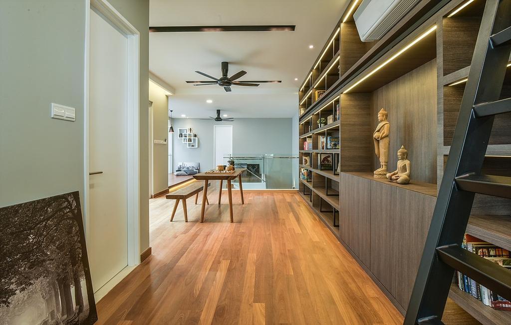 Modern, Landed, Study, Scenaria Super Link, Interior Designer, IQI Concept Interior Design & Renovation, Minimalistic