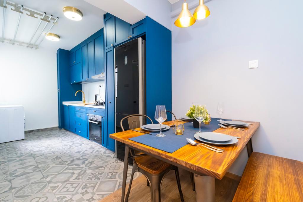 Contemporary, HDB, Dining Room, Cantonment Close, Interior Designer, Renex Interior