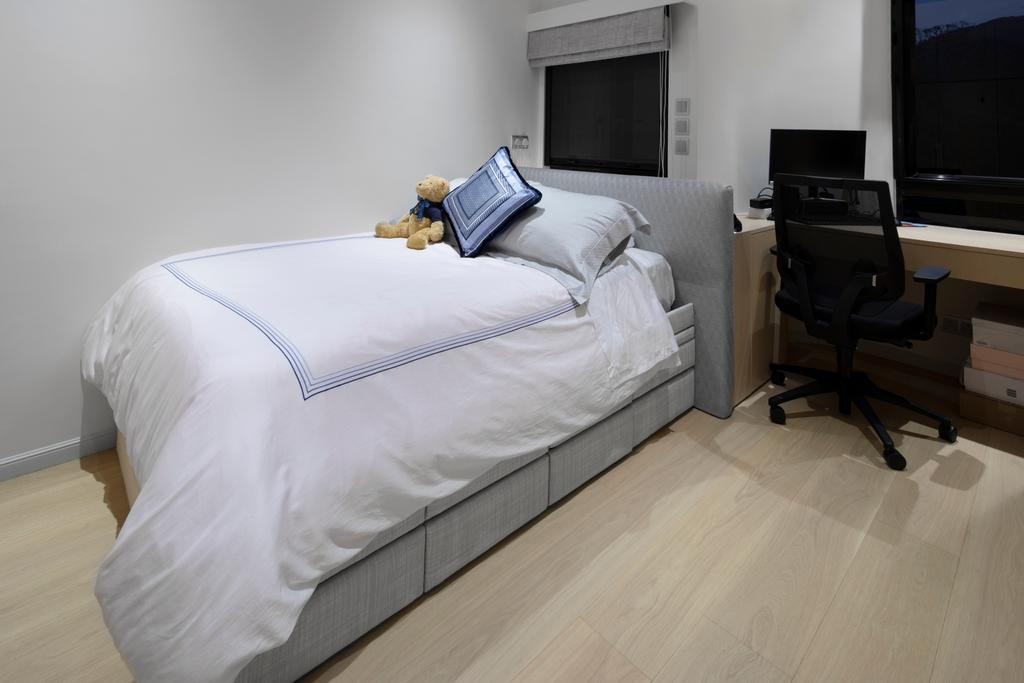 私家樓, 睡房, 雅柏苑, 室內設計師, Ash Studio