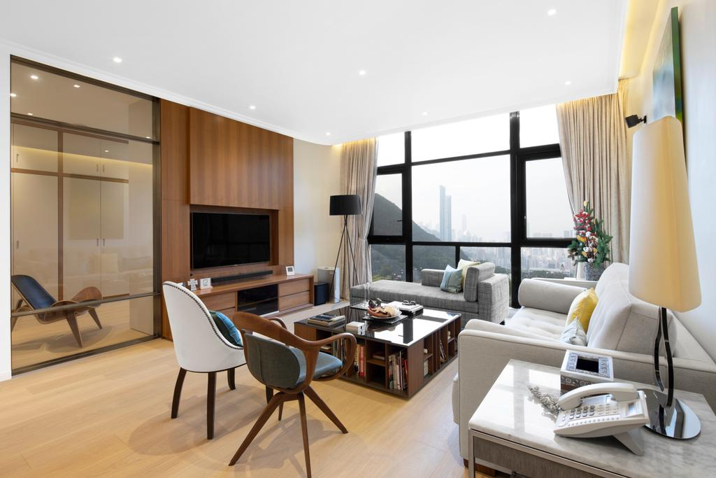 私家樓, 客廳, 雅柏苑, 室內設計師, Ash Studio
