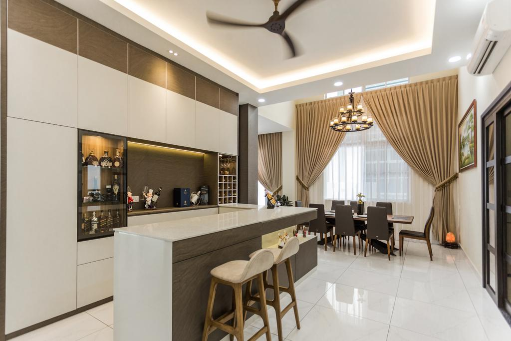 Modern, Landed, Eco Spring, Johor Bahru, Interior Designer, Sky Creation, Contemporary