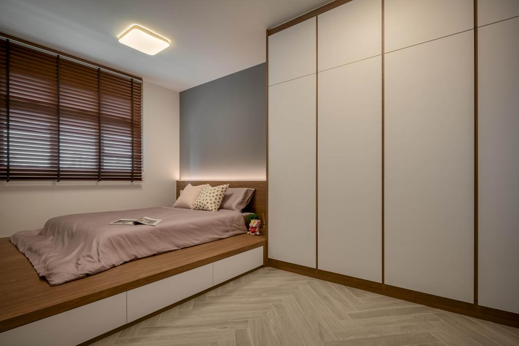 Contemporary, HDB, Bedroom, Henderson Road, Interior Designer, Zenith Arc, Scandinavian