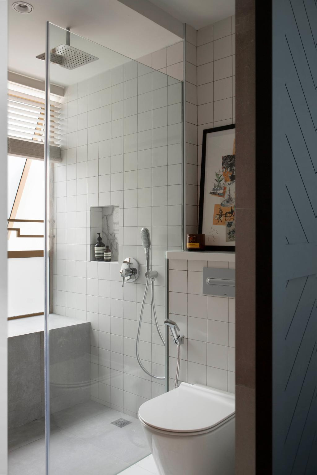 Contemporary, Condo, Bathroom, The Maylea, Interior Designer, Adroit ID
