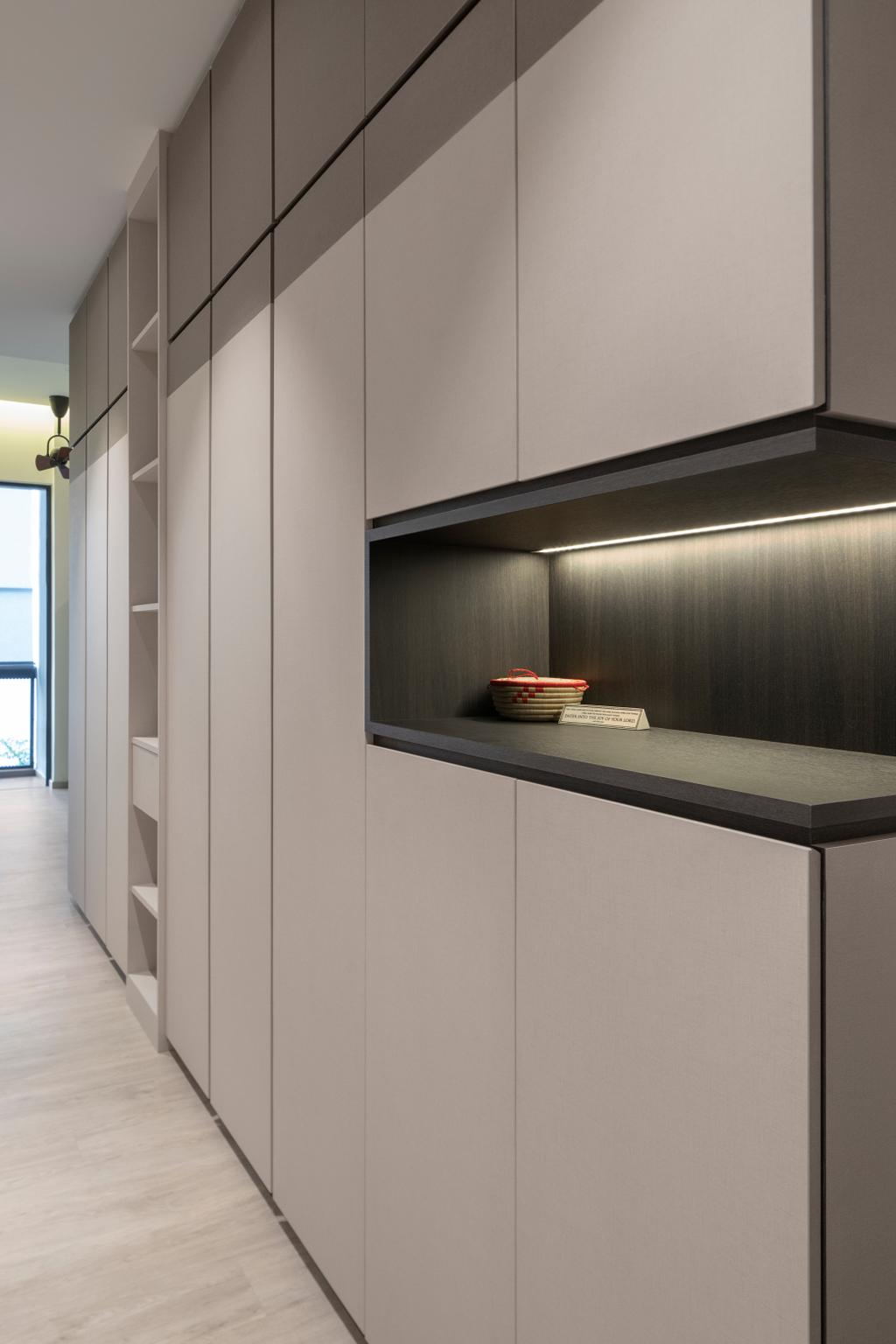 Contemporary, Condo, The Orient, Interior Designer, Adroit ID