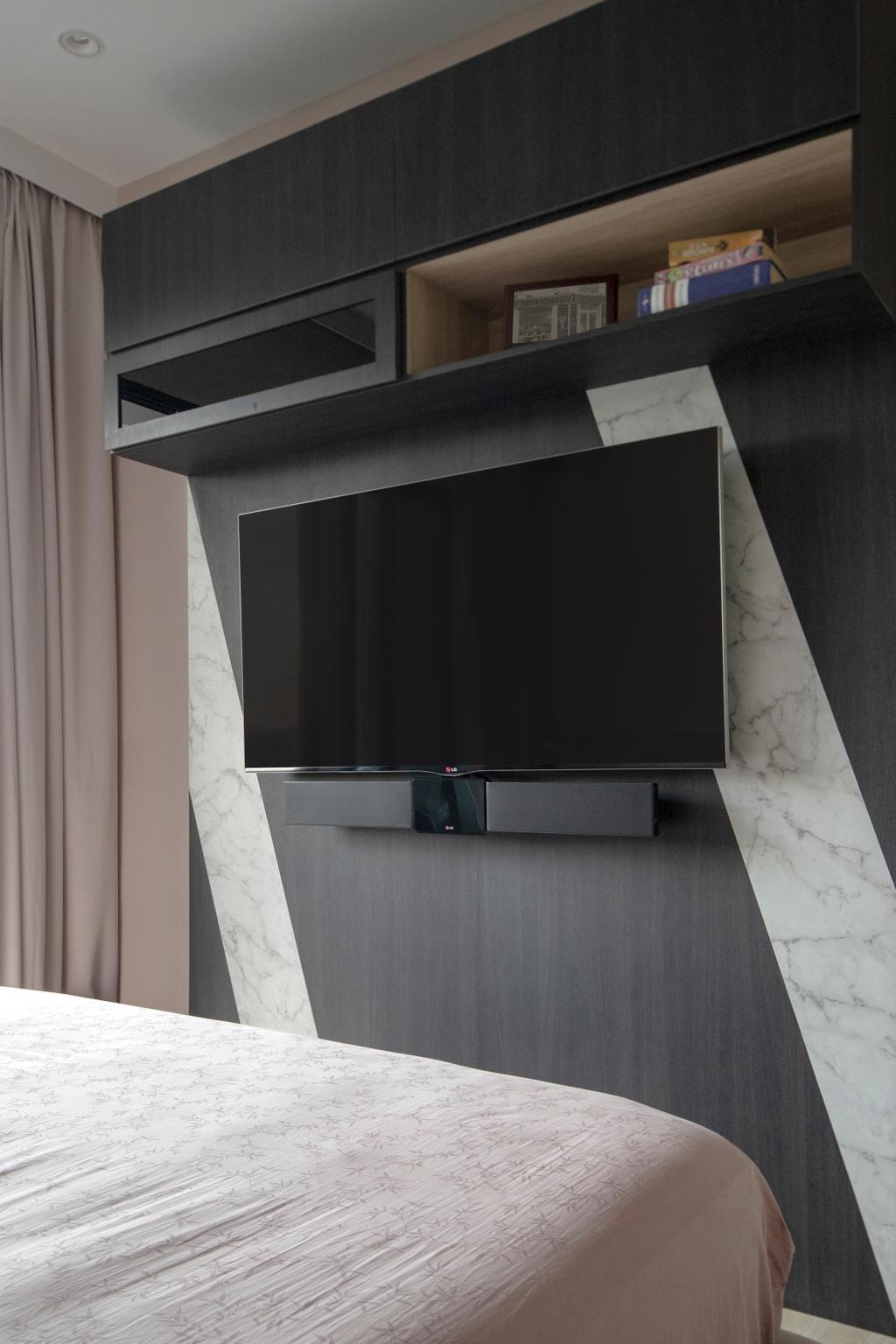Contemporary, Condo, Bedroom, The Orient, Interior Designer, Adroit ID