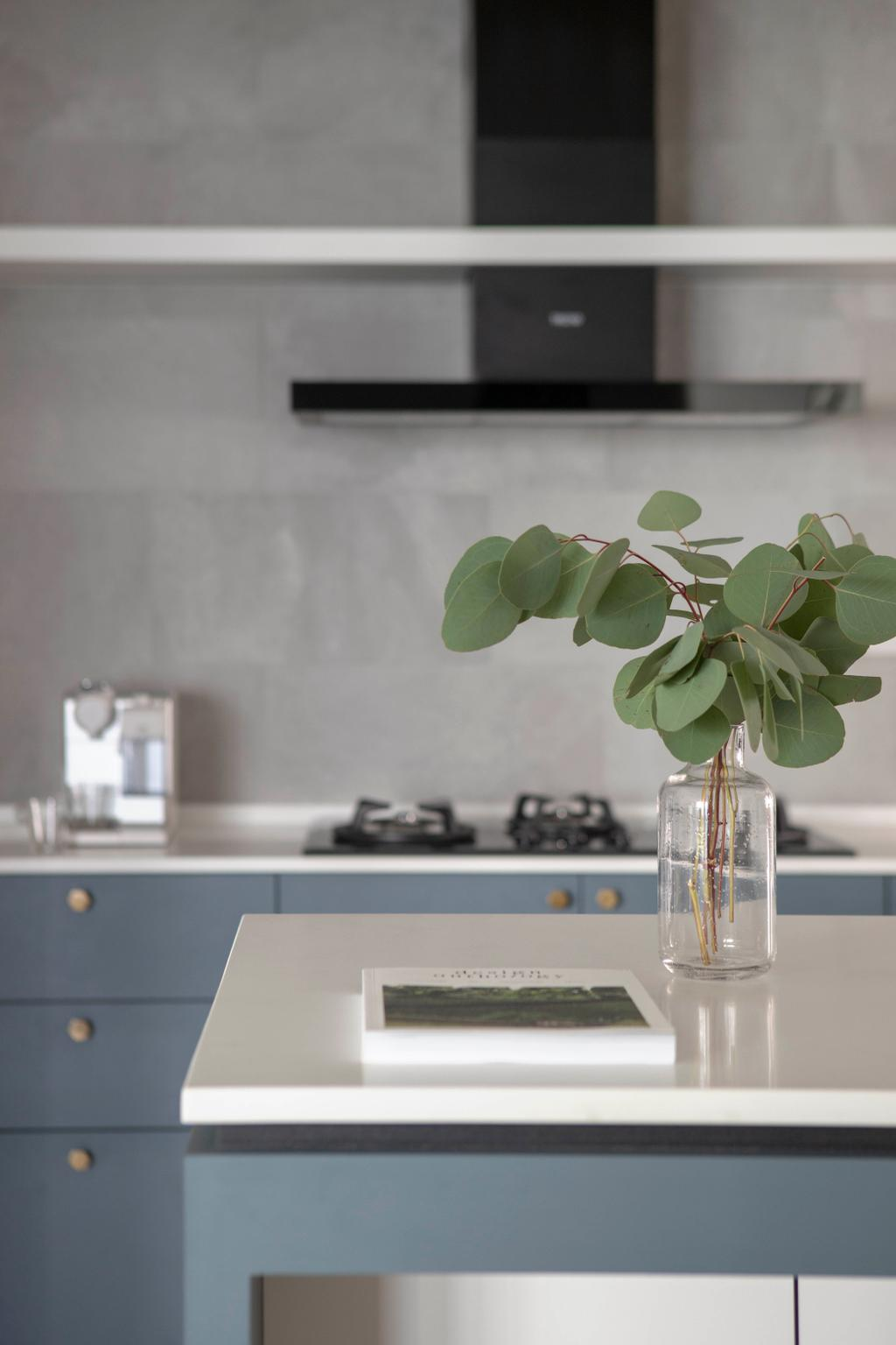 Contemporary, HDB, Kitchen, Sumang Lane, Interior Designer, Adroit ID