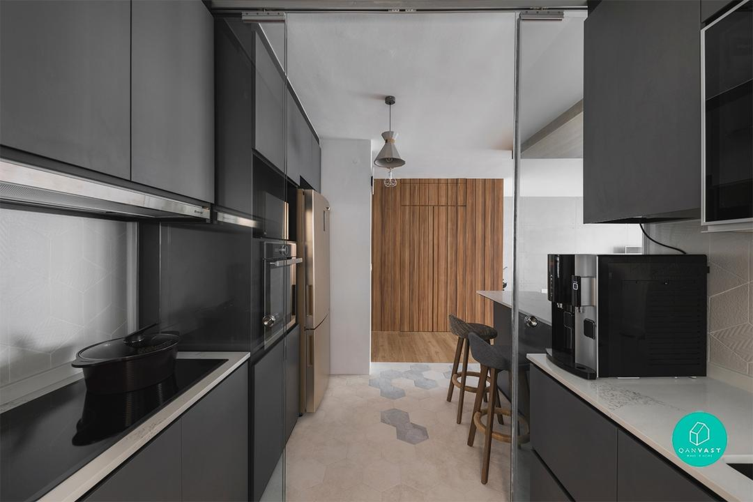 Scandinavian and Industrial BTO Flat Design in Sumang Lane by ProjectGuru